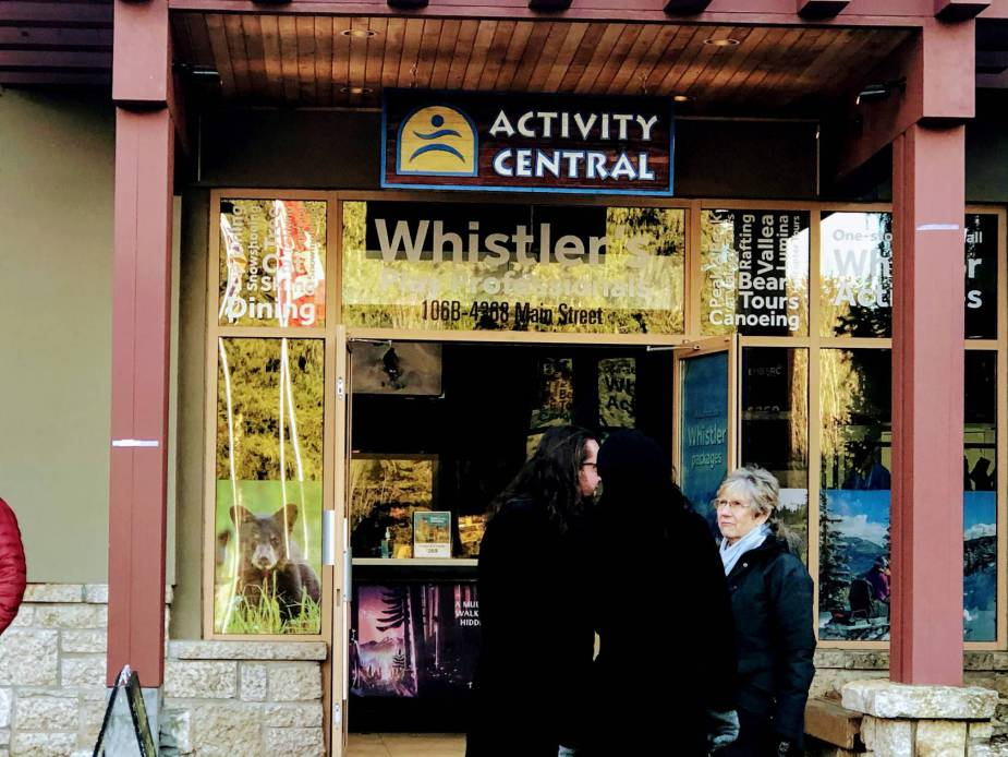Activity centre Whistler Family tour @ Globalduniya