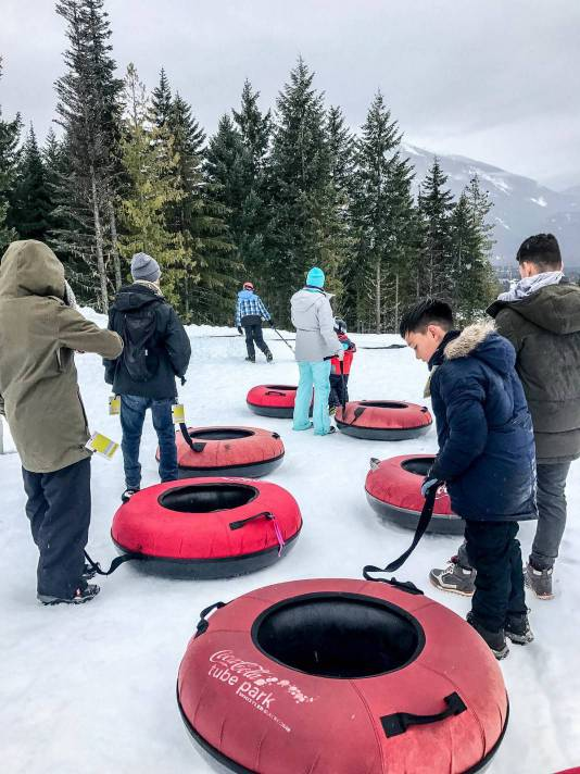 Whistler Snow tubing Family adventure @ Globalduniya